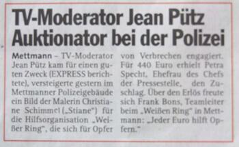 Jean Pütz in Mettmann