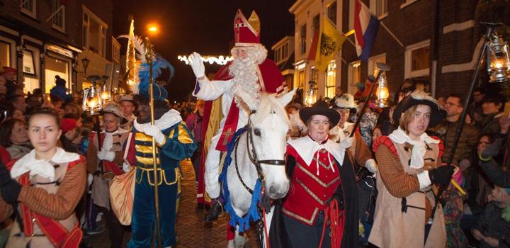 Sinterklaas in Naarden