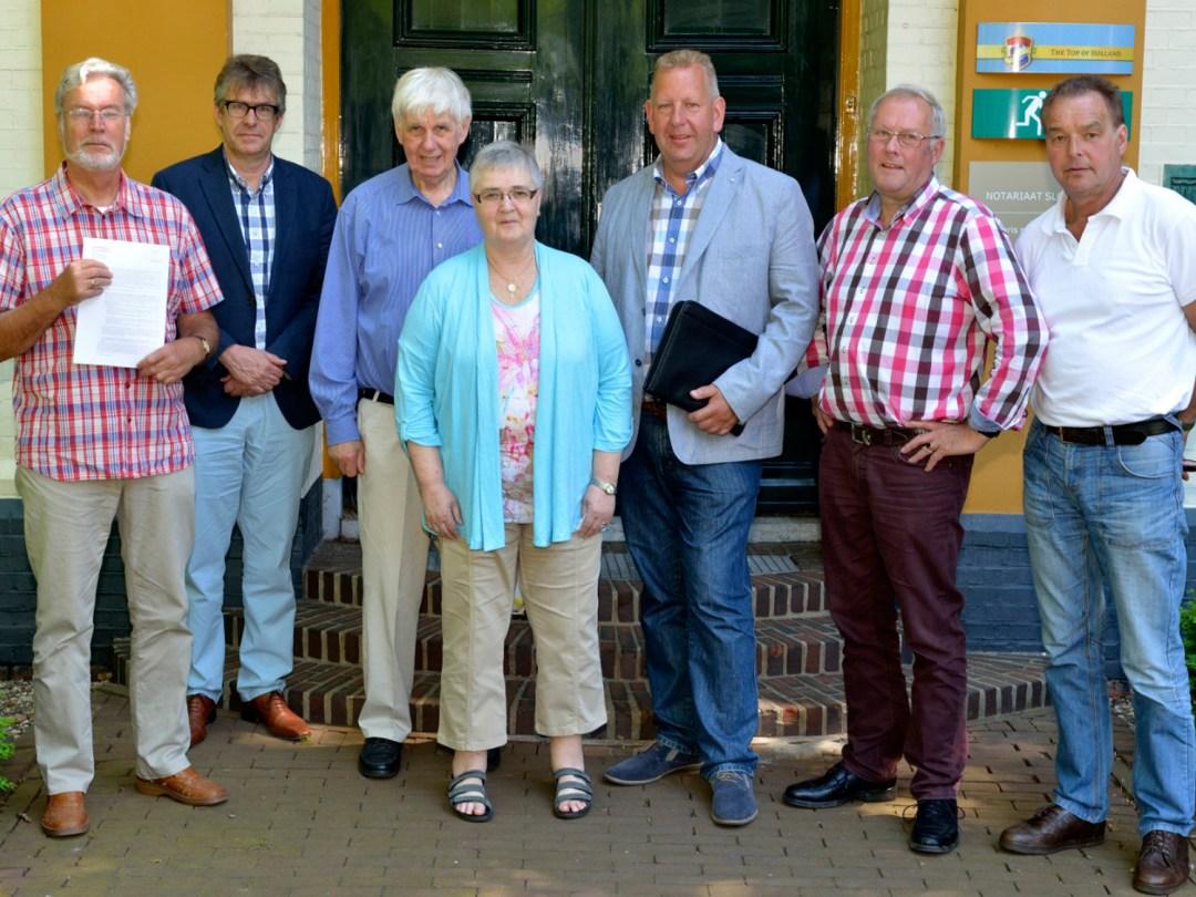 Bestuur Stichting Juffertoren Schildwolde