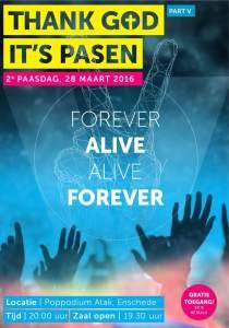Thank God it's Pasen