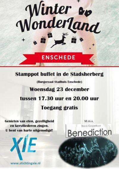 Flyer Winter Wonderland