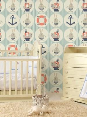 Papel de Parede Adesivo Baby Marinheiro