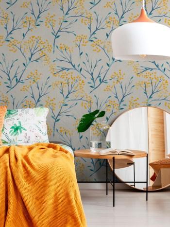 Papel de Parede Floral 047
