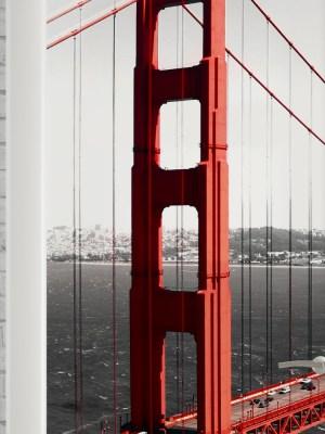 Adesivo de Porta Ponte
