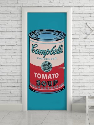 Adesivo de Porta Pop Art