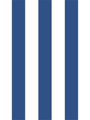 Papel de Parede Adesivo Listras Azul e Branco