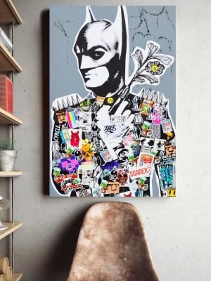Placa Decorativa Collage