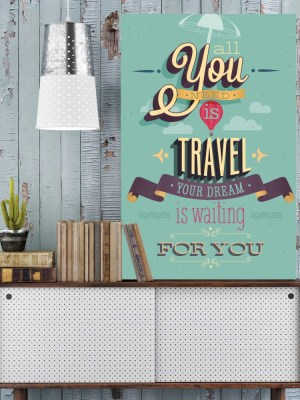 Placa Decorativa Travel