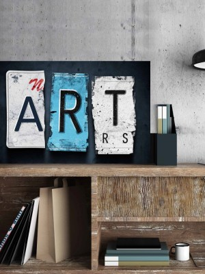 Placa Decorativa Vintage ART