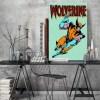 Placa Decorativa Vintage Comic