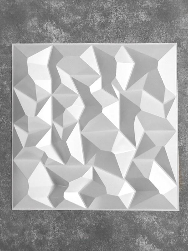 PLACA 3D AUTOCOLANTE PRISMA