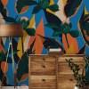 Painel Fotográfico Floral Batik