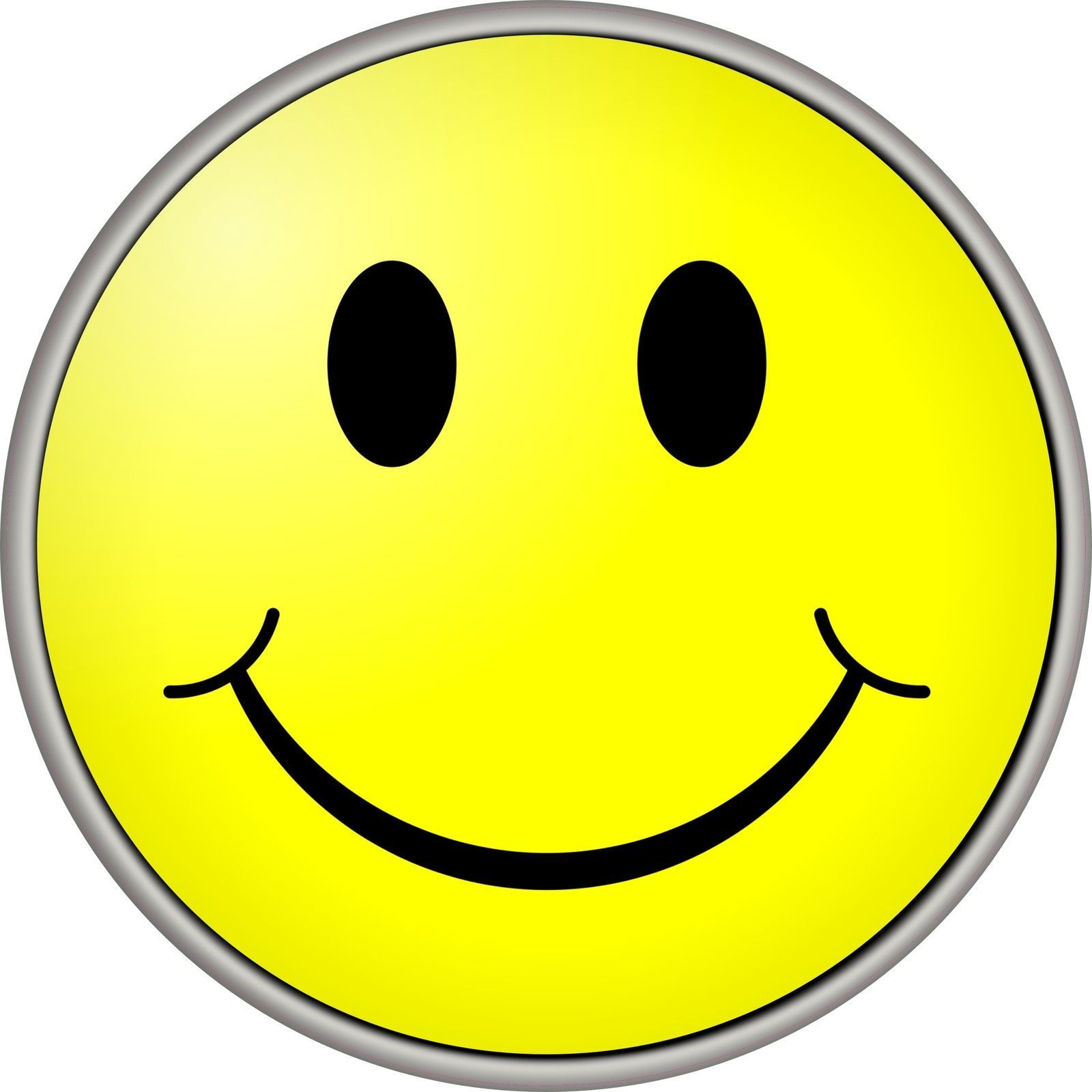 Smiley Face Yellow 4x4 Spare Wheel Cover Decal Sticker