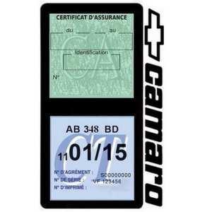 Porte double assurance auto Camaro Chevrolet