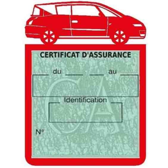 Vignette assurance voiture AVANTIME Renault rouge