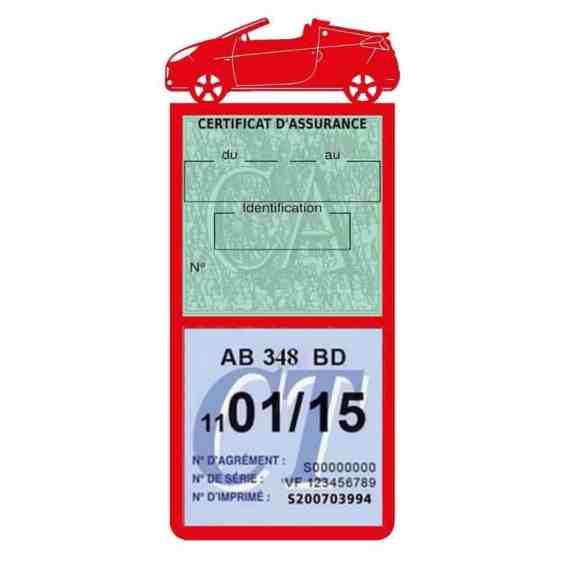 WIND RENAULT vignette assurance voiture méga rouge