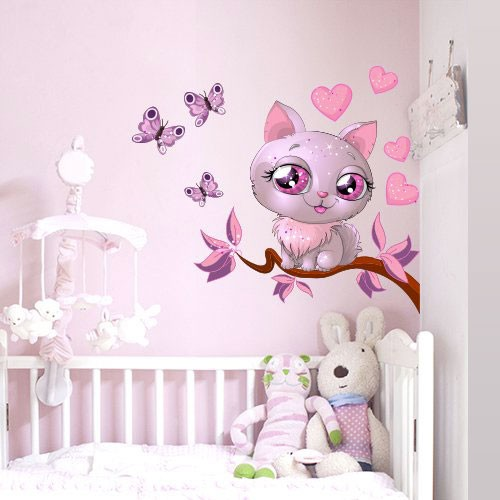 Awesome Pochoir Mural Pour Chambre Fille Chambre Fille