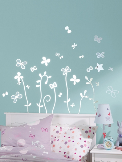 stickers mural chambre fille