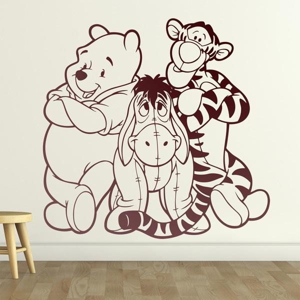 Compra adesivi murali winnie the pooh medium, di crearreda. Adesivo Murale Bambini Winnie The Pooh Stickersmurali Com