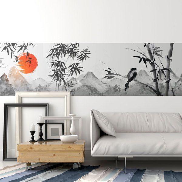 Carta da parati adesiva tinta unita mobili muro moderna rotolo 2mx45cm. Bordi Adesivi Per Pareti Stickersmurali Com