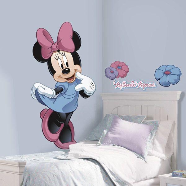 Tutte le nostre decorazioni disney, caratterizzate dai personaggi dei. Adesivo Murale Bambini Grande Minnie Mouse Stickersmurali Com