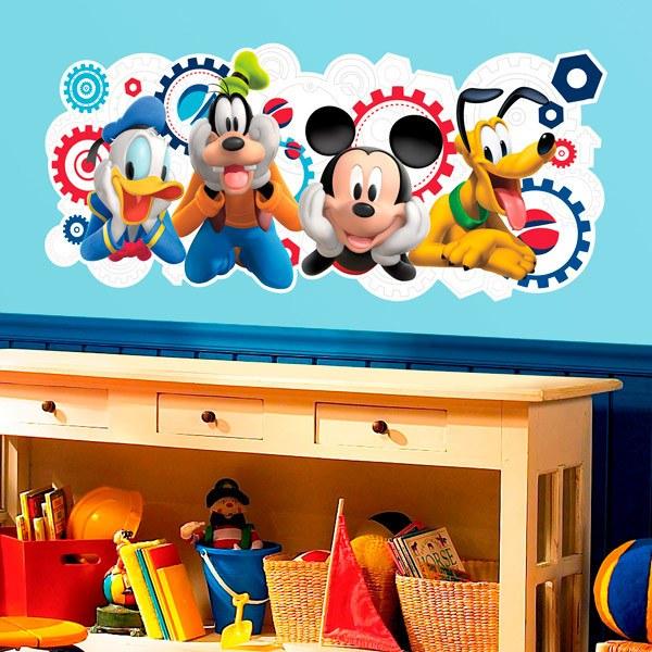 Decorazioni per bambini set accessori per capelli bambina disney minnie forcine mollettine e cerchietto escrizione prodotto: Adesivi Murali Bambini Disney Stickersmurali Com