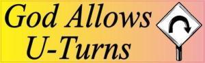 god allows u turn stickers