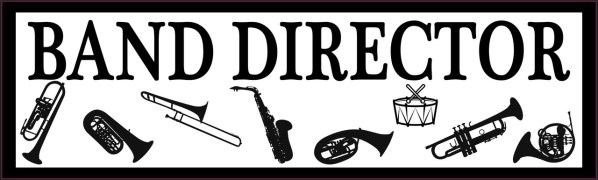 Band Director Bumper Sticker