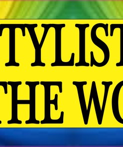 Hair Stylists Color The World Bumper Sticker