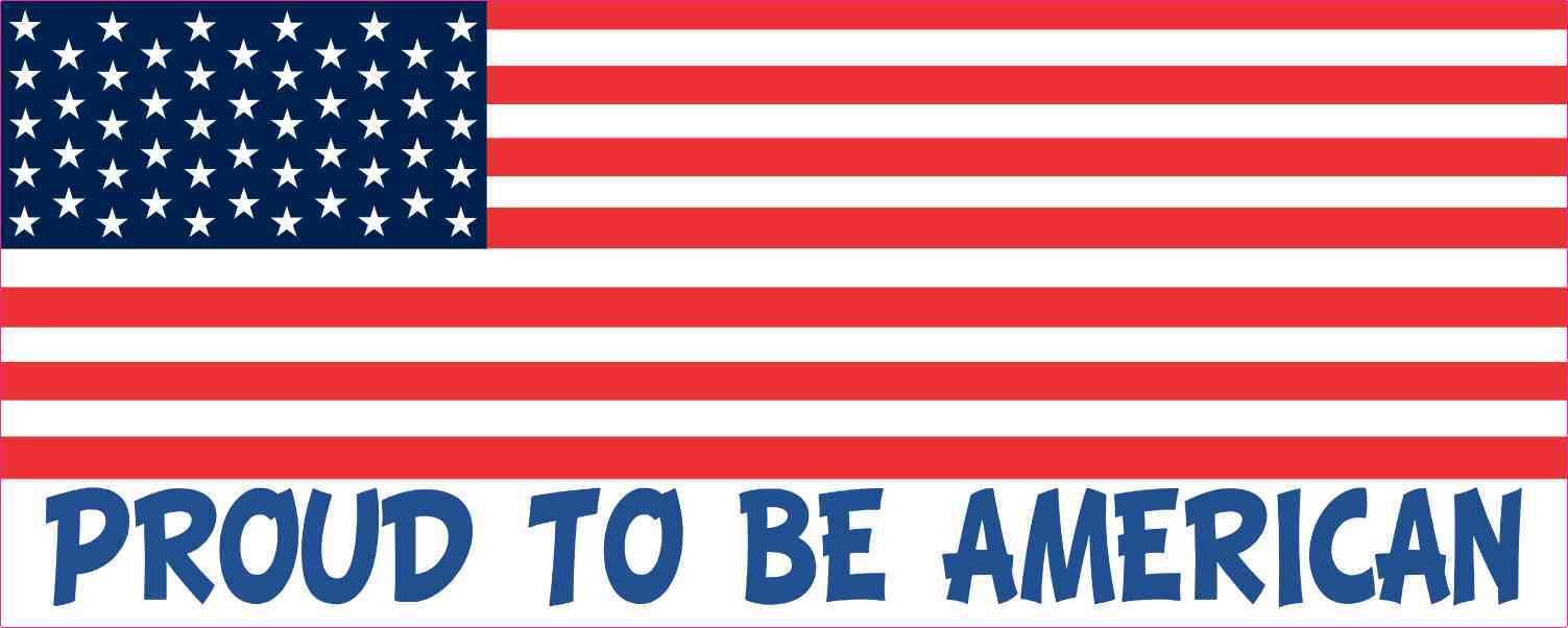 Proud To Be American Magnet