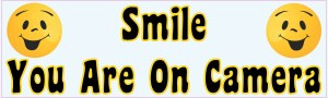 Smile You Are On Camera Magnet
