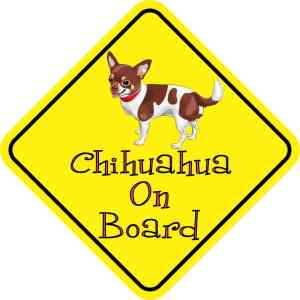 Chihuahua On Board Magnet