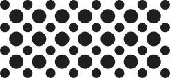 StickerTalk Black Camera Dots