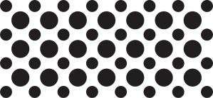 StickerTalk Black Camera Dots