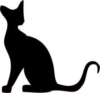 Black Cat Car Decals