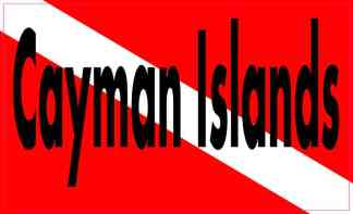 cayman islands dive flag