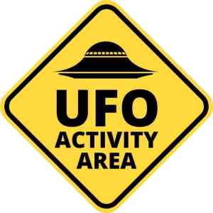 ufo activity area magnet