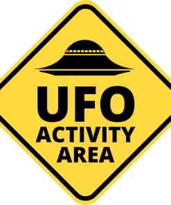 ufo activity area magnet