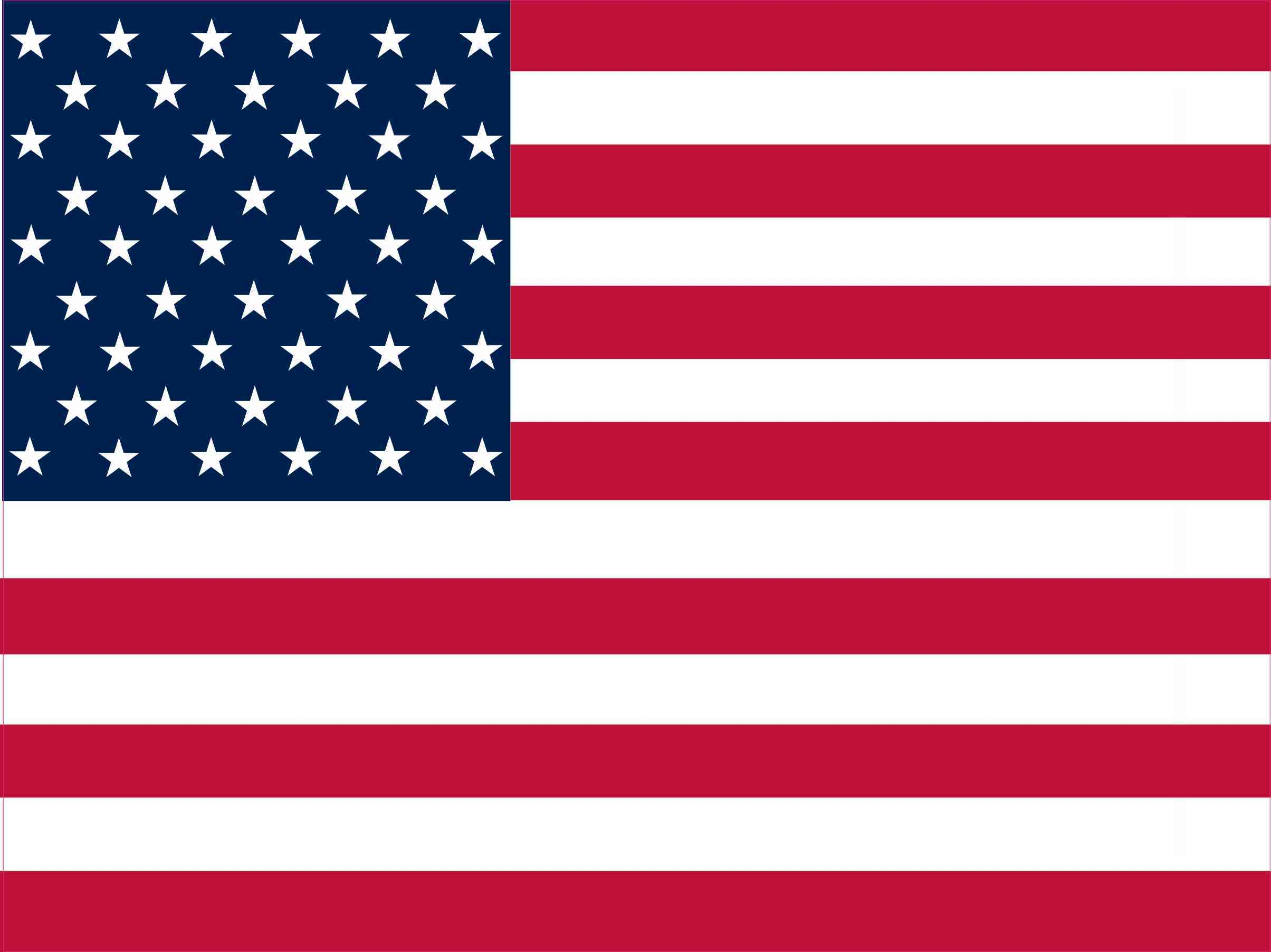 16in x 12in american flag sticker decal stickers window vinyl decals flags