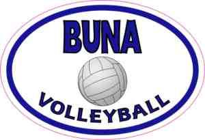 Buna Volleyball sticker