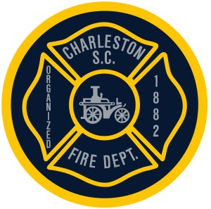 Charleston Fire Department sticker