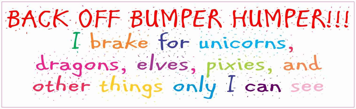 unicorn bumper