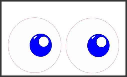 funny eyes sticker