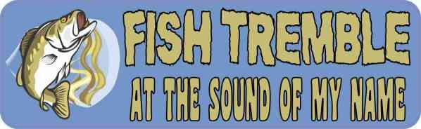 fish tremble bumper