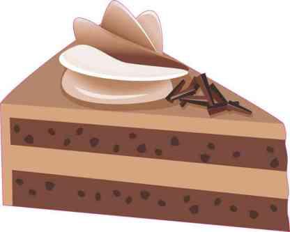 Chocolate Cake Sticker