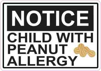 peanut allergy