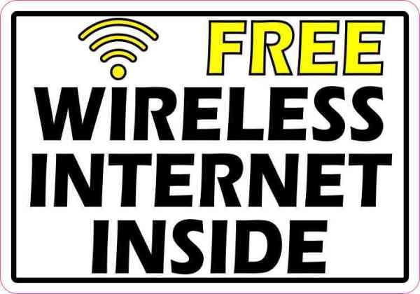 Wireless Internet Inside
