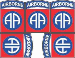 Eighty-Second Airborne Stickers