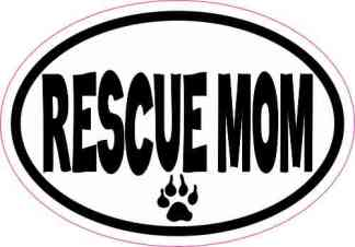 rescue dog sticker