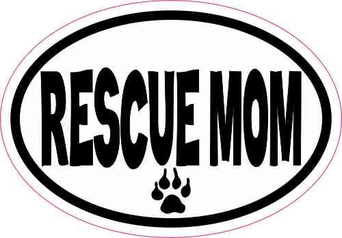 rescue dog sticker